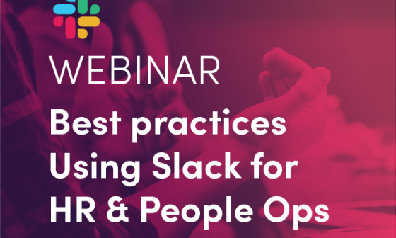 Slack for HR and People Ops