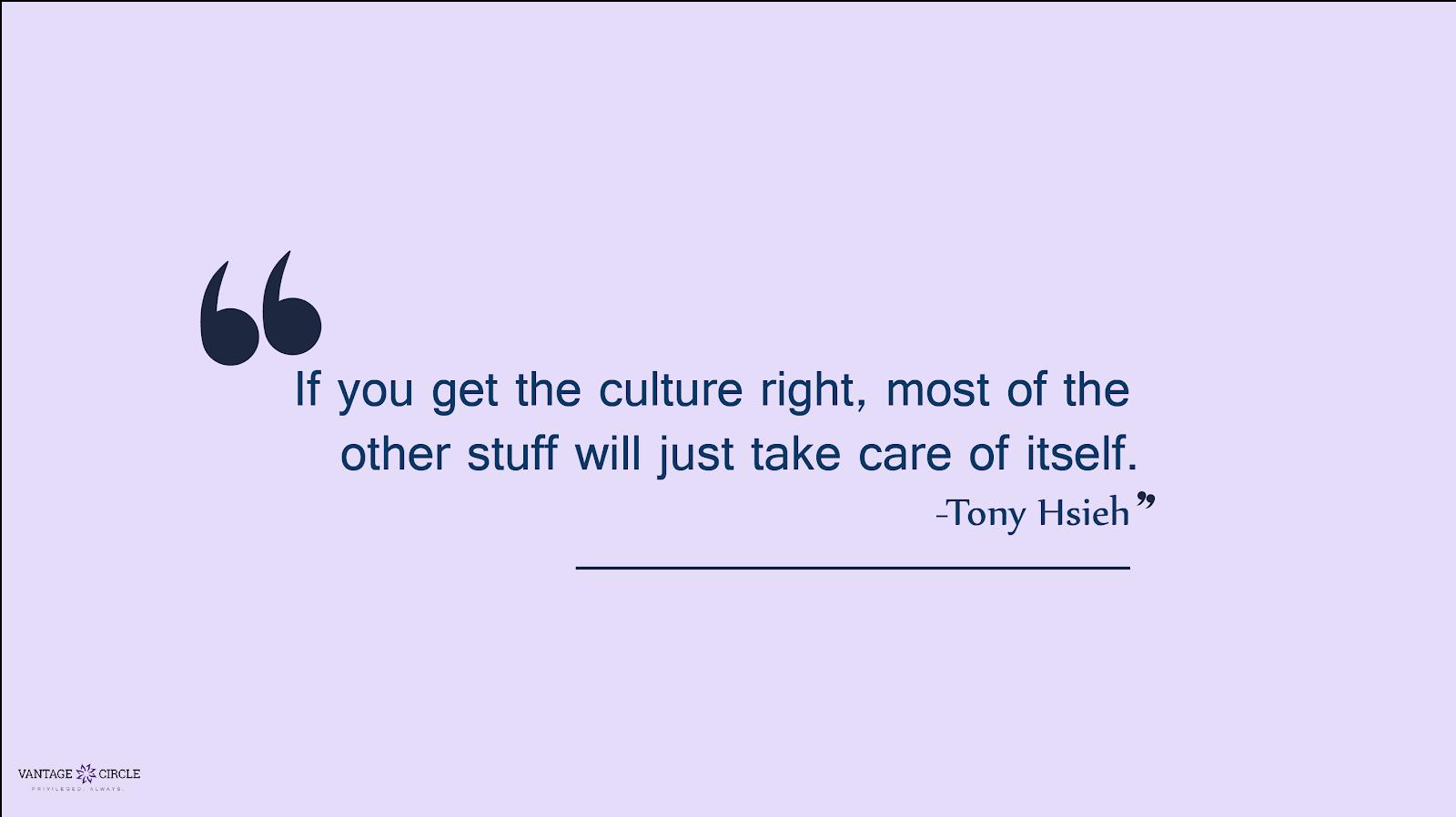 team culture - quote