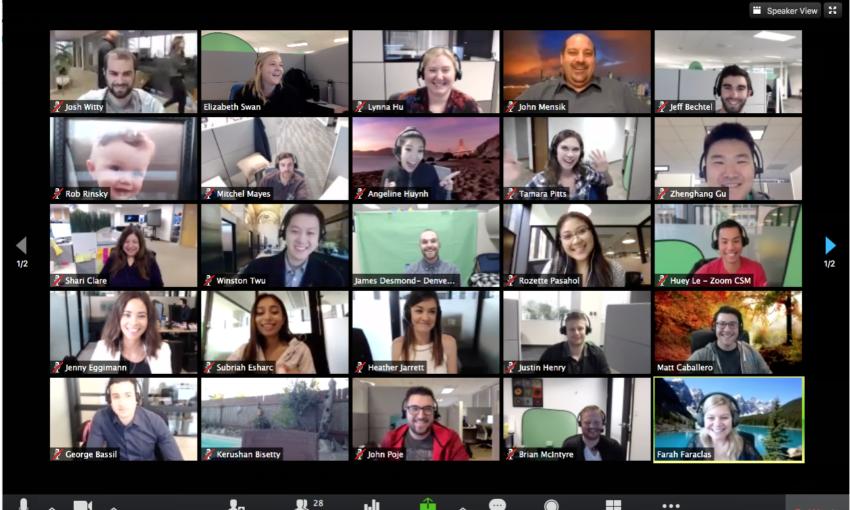 zoom - team collaboration tools