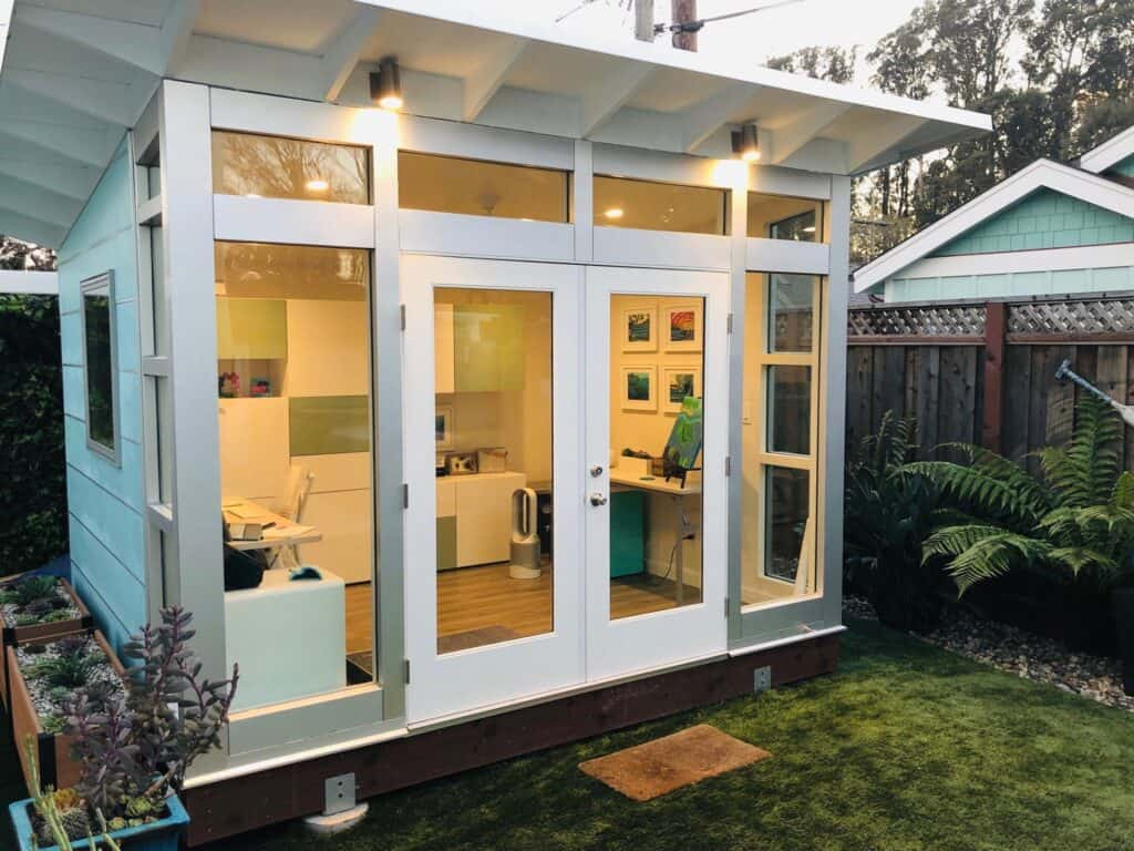 Eco Friendly Backyard Offices