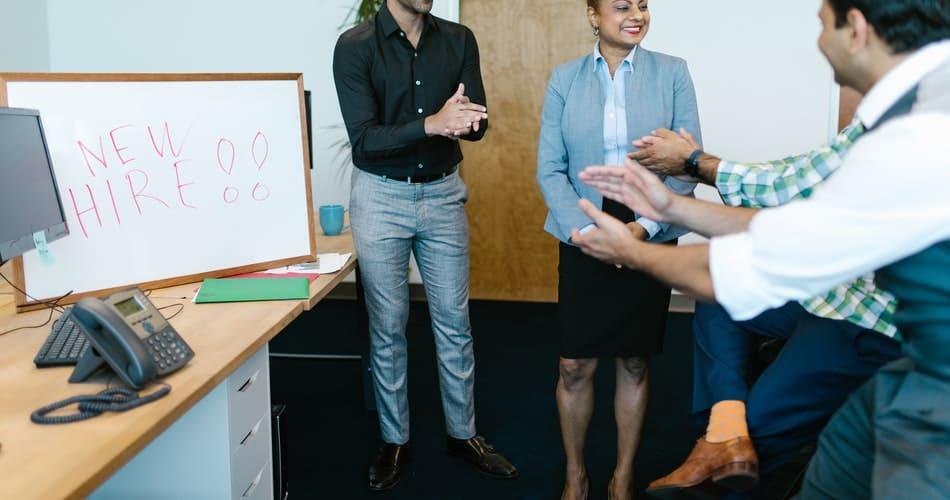 A positive feedback boosts employee morale
