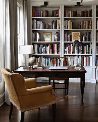 Home Library Office