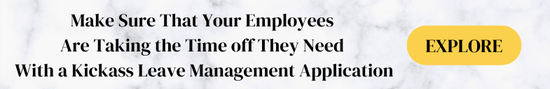 Taking Time Off Employees Need